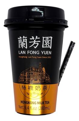 LAN FONG YUEN MILK TEA 兰芳园 丝袜奶茶(280ML)