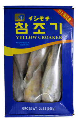 RH FROZEN YELLOW CROAKER 32OZ 冻野生黄花鱼60/80(2LB)