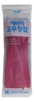 ATOMY NATURAL LATEX GLOVES M SIZE 韩国 天然乳胶手套(中码1对)