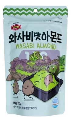 MURGERBON WASABI  ALMOND 韩国 芥末味杏仁粒(200G)