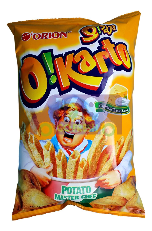 ORION OIKARTO ICREAM CHEESE GRAINS 韩国 好丽友 奶油芝士味薯条(115G)