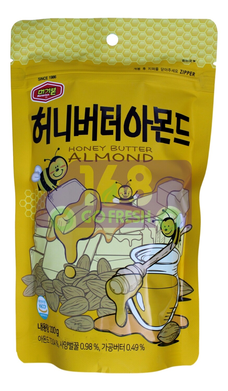 MURGERBON HONEY BUTTER ALMOND 韩国 蜂蜜牛油味杏仁粒(200G)