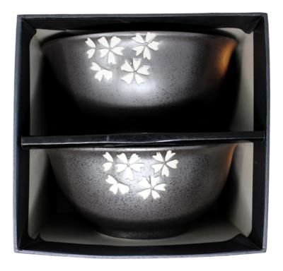 Bowl Gift Set 黑色瓷碗(两个) 礼盒装 8712300000407