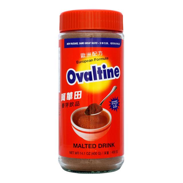 OVALTINE MALTED DRINK 阿华田 麦芽饮品(14.1OZ)