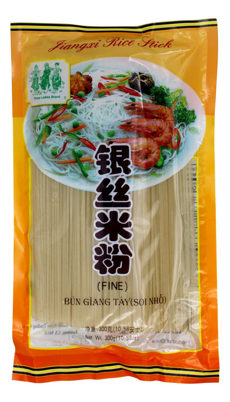 GIANGXI RICE STICK (FINE) 三仙女 银丝米粉(300G)
