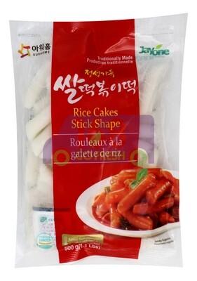Korean Style Rice Cake 韩国  JAYONE 年糕条(500g)