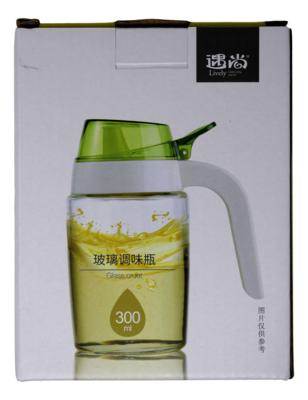 GLASS DISPENSER 300ML 遇尚 玻璃调味瓶 300ML(6955746203250)