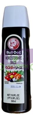 BULL-DOG WORCESTERSHIRE SAUCE 日本 BULL-DOG 辣酱油(500ML)
