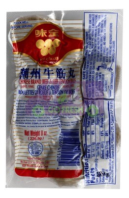 WEICHUAH BEEF TENDAN BALL 味全 潮州牛筋丸(226.8G)