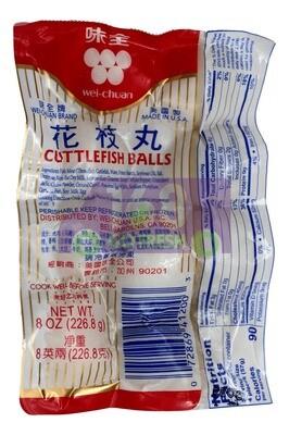 WEICHUAH CUTTLEFISH  BALL 味全 花枝丸(226.8G)