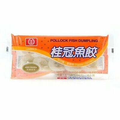 LAUREL'S POLLOCK FISH DUMPLING 桂冠 鱼饺(3.17OZ)