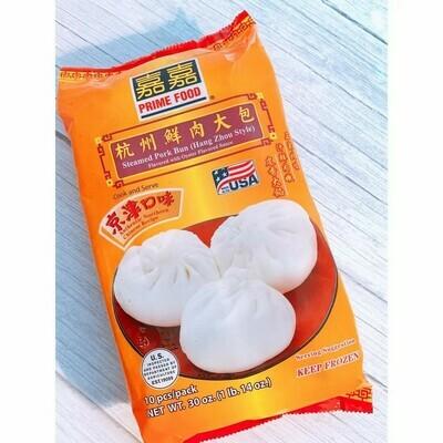 PRIME FOOD STEAMED PORK BUN - HANGZHOU STYLE 嘉嘉 杭州鲜肉大包(26OZ)