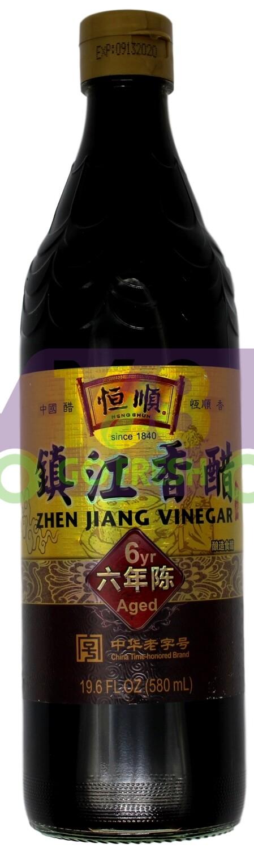 Hengshun zhengjiang Vinegar(6 Years Age) 恒顺 镇江香醋(六年陈)(19.63OZ)