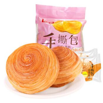 AIXIANGQIN CAKE  爱乡亲 手撕面包 鸡蛋加牛奶 奶香味(388G)