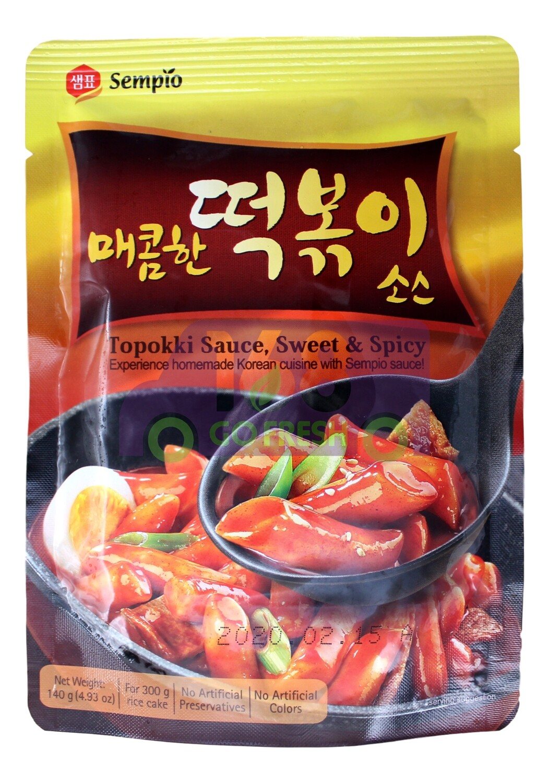 SEMPIO TOPOKKI SAUCE, SWEET AND SPICY 韩国 Sempio 年糕酱(甜辣口味)