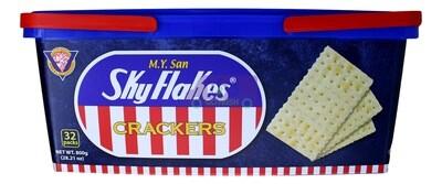 SKY FLAKES CRACKERS 空中霸王 苏打饼干(内有32小包)