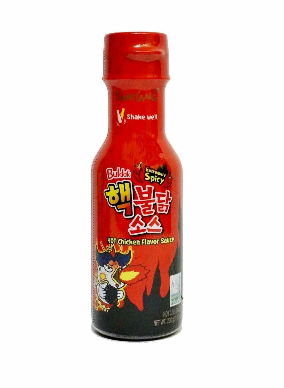 SAMYANG BULDAK EXTREMELY HOT CHICKEN FLAVOR HOT SAUCE 韩国 三养 特辣鸡味辣酱(200G)