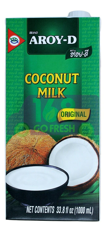 AROY-D COCONUT MILK 100% Aroy-D 100%椰奶(1000ML)
