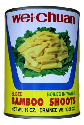 WEI-CHUAN BAMBOO SHOOTS 味全 麻竹笋块罐头(19OZ)