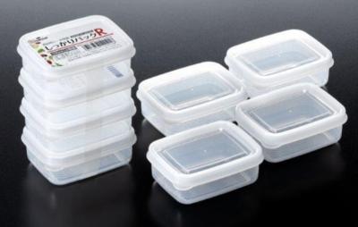 JAPANESE FOOD CONTAINER 3PCS(Volume 100ML ) 日本 方形食物盒子3个装 (容积 100ML)(4955959120216)