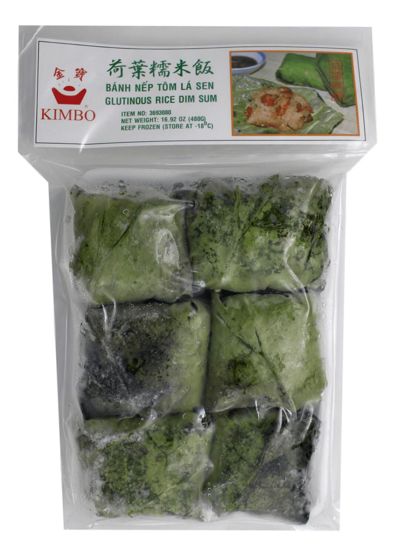 KIMBO GLUTINOUS RICE DIM SUM 金宝 荷叶糯米饭(16.92OZ)