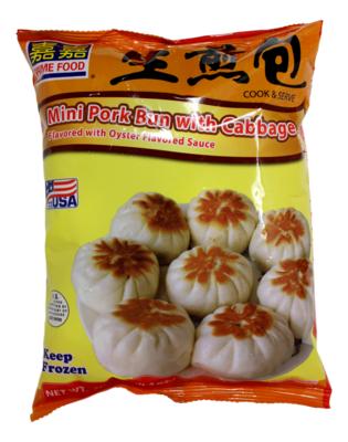 MINI PORK BUN/CABBAGE 嘉嘉 白菜猪肉生煎包(20OZ)