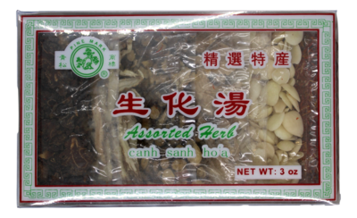 PINE MARK ASSARTED HERB 青松 生化汤(3OZ)