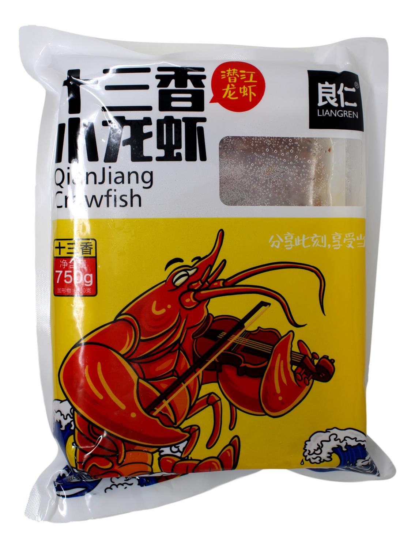 LIANGREN QIANJIANG CRAWFISH 良仁 十三香小龙虾(潜江龙虾)(750G)
