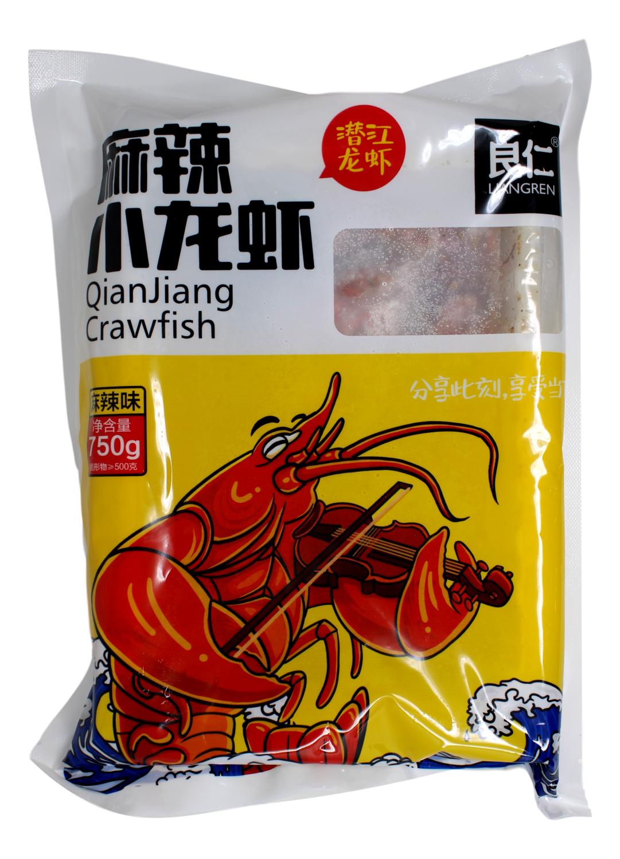 LIANGREN QIANJIANG CRAWFISH 良仁 麻辣小龙虾(潜江龙虾)(750G)