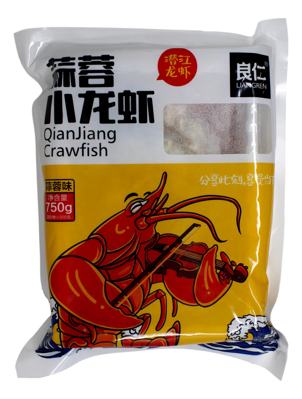 LIANGREN QIANJIANG CRAWFISH 良仁 蒜蓉小龙虾(潜江龙虾)(750G)
