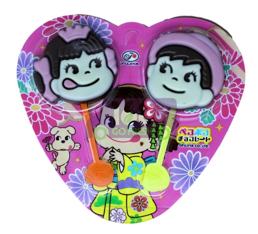FUJIYA PEKO POKO CHOCOLATE 日本 不二家巧克力棒 双人版(0.84OZ)