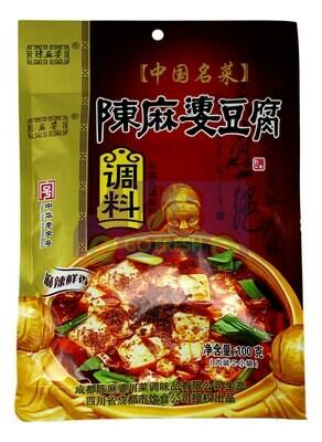 CHENMAPO MOPO TOFU SEASONING 陈麻婆 麻婆豆腐调味酱(100G)