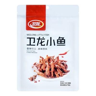 WEI-LONG LITTLE FISH SPICY 卫龙 小鱼 香辣味(150G)