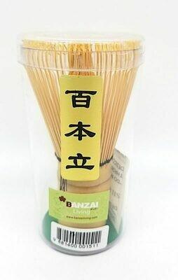 JAPANESE ORIENTAL TEA STIR - BAMBOO日本竹制绿茶搅拌器