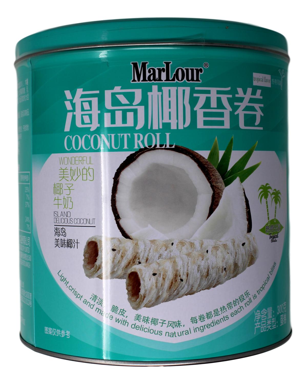 MARLOUR COCONUT ROLL 万宝路 海岛椰香卷(300G)