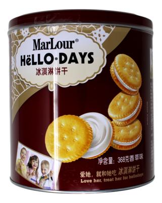 MARLOUR HELLO DAYS 万宝路 冰淇淋饼干(368G)