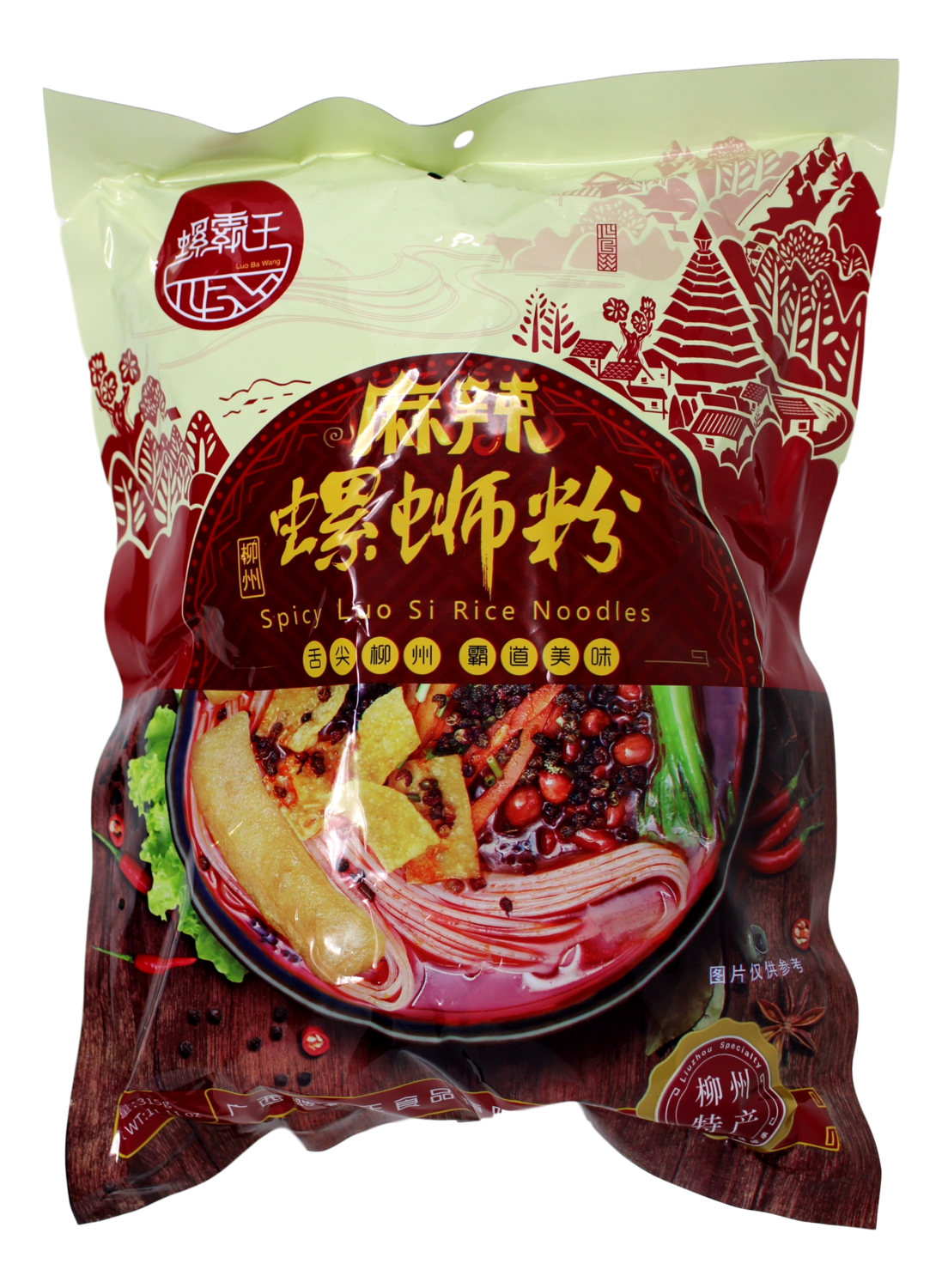 RIVER SNAIL SPICY RICE NOODLES 螺霸王 麻辣螺蛳粉(315G)
