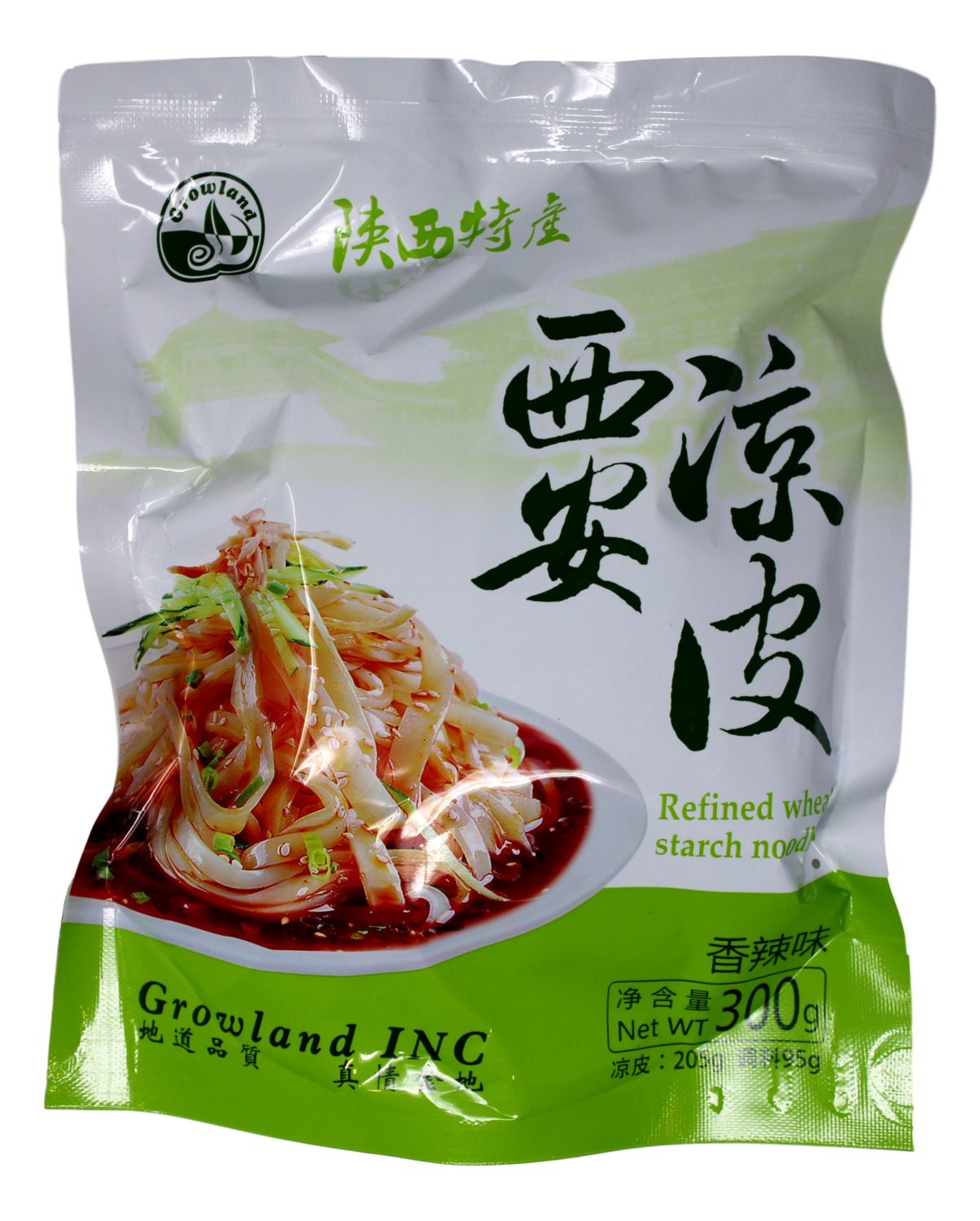 REFINED WHEAT STARCH NOODLE  陕西特产 西安凉皮(116G)