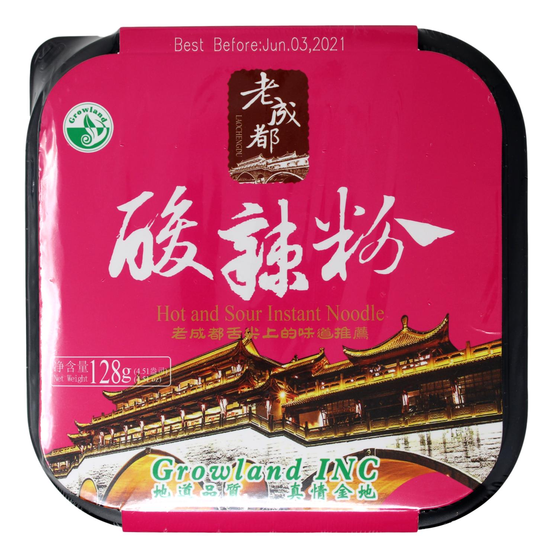 LAOCHENGDU DANDAN NOODLESICHUAN STYLE HOT 老成都 酸辣粉(128G)