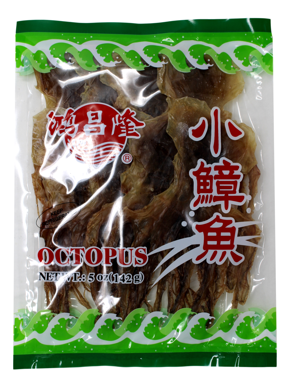DRIED OCTOPUS 鸿昌隆 小章鱼(5OZ)
