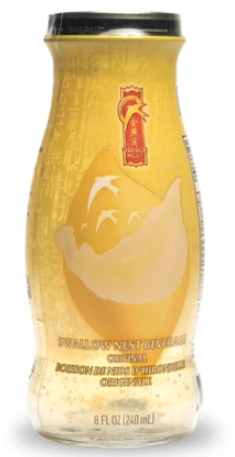 GOLDE NEST Bird's Nest Drink With Original Sugar 240ml 金燕窝有机冰糖燕窝单瓶装240ml