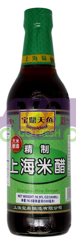 BEAUIDEAL SHANG HAI RICE VINEGAR  宝鼎天鱼 精制上海米醋(500ML)