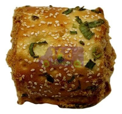 (包点)Green Onion Shredded Meat bun (2 Counts)  香葱肉松包(2 个)