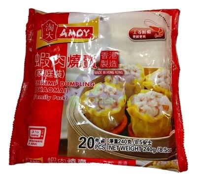 AMOY SHRIMP DUMPLING (SHAOMAI) 淘大 虾肉烧卖(240G)
