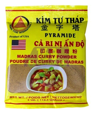 KIM TU THAP CURRY POWDER 袋装金字塔印度咖喱粉(4OZ)