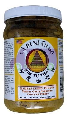 MADRAS CURRY POWDER 印度咖喱粉(16OZ)