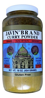 JAVIN BRAND CURRY POWDER  JAVIN BRAND 印度咖喱粉(16OZ)