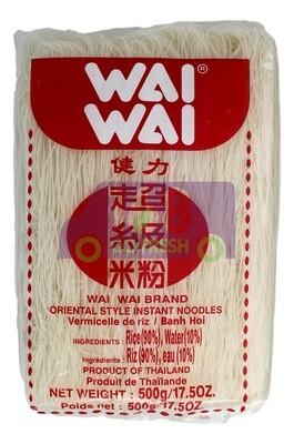 WAI WAI ORIENTAL STYLE  INSTANT NOODLES 健力超级米粉(500G)