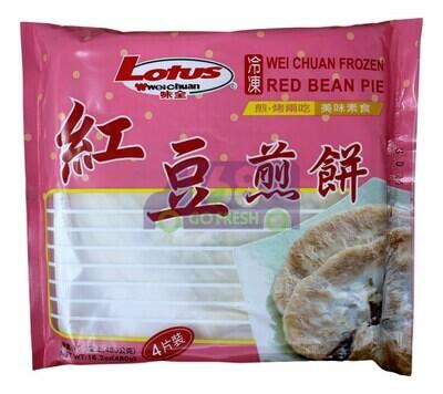 WEIQUAN RED BEAN PIE 味全红豆煎饼(16.2OZ)