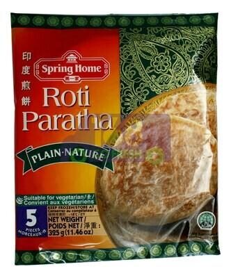 SPRING HOME - ROTI PARATHA( PLAIN.NATURE) 第一家 印度煎饼_原味(325G)